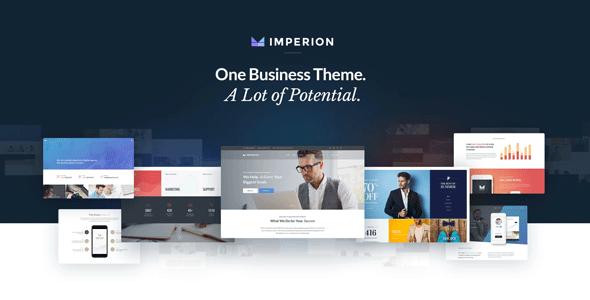 Imperion — многоцелевой WordPress шаблон сайтов для бизнеса