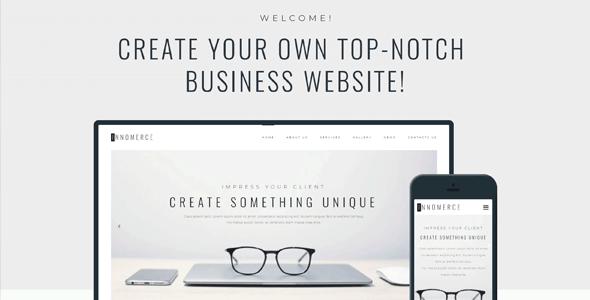 Innomerce — минимальная бизнес-тема для Вордпресс с поддержкой Элементора