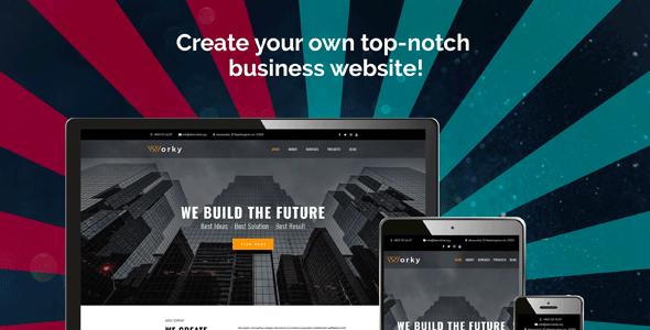 Worky — Architectural Bureau Multipurpose Modern Elementor
