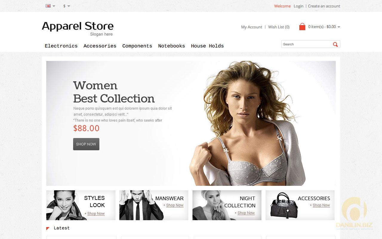 b639c3cd378 30 лучших шаблонов интернет-магазинов одежды для OpenCart